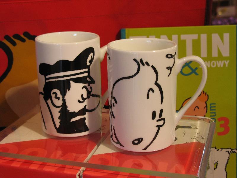 Tintin Mug Duo
