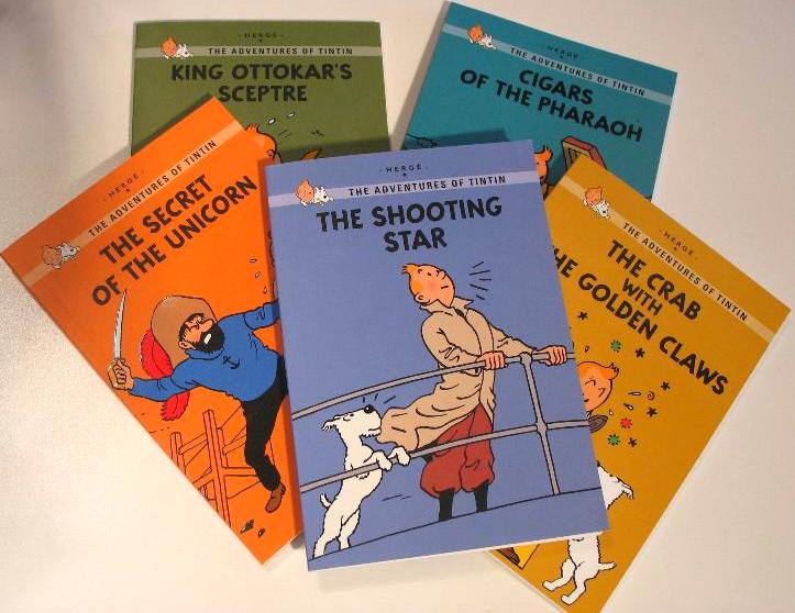 Tinitn Small Series Books