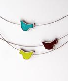 3 Bird Stubborn Necklace