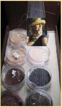 Portrait in Beads