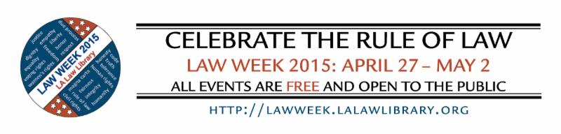 Law week 2015 Header