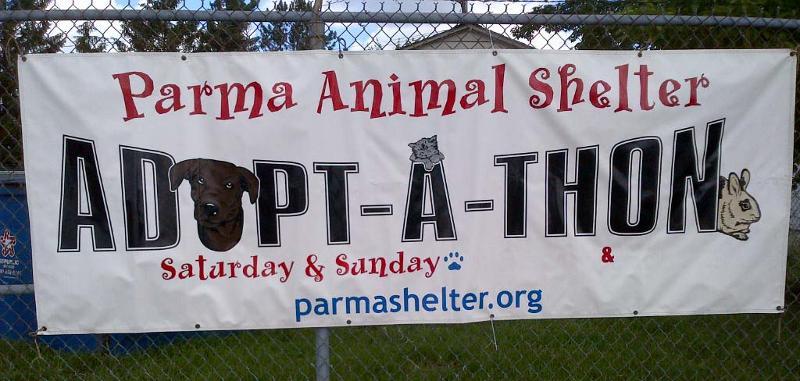 PAS Adopt-A-Thon sign