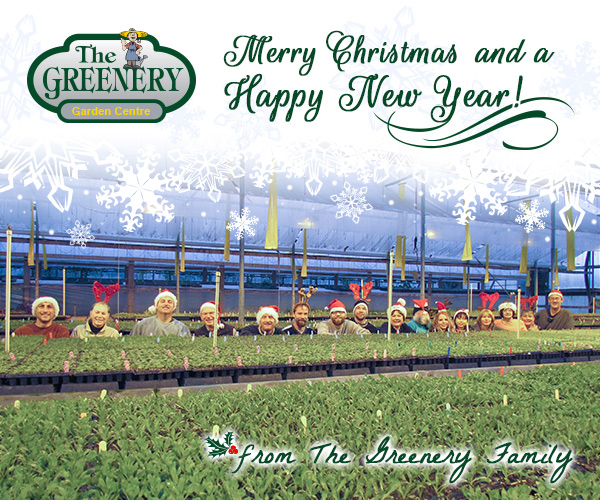 Merry Christmas From The Greenery Family