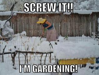 Gardening Meme