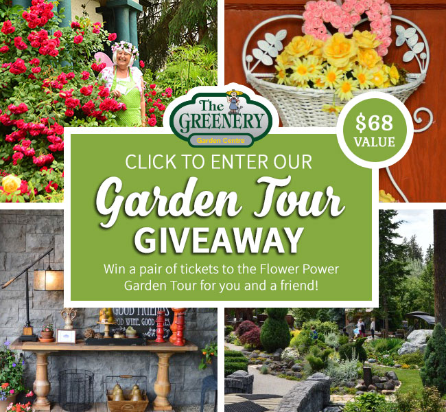 Kelowna Garden Tour Tickets Giveaway
