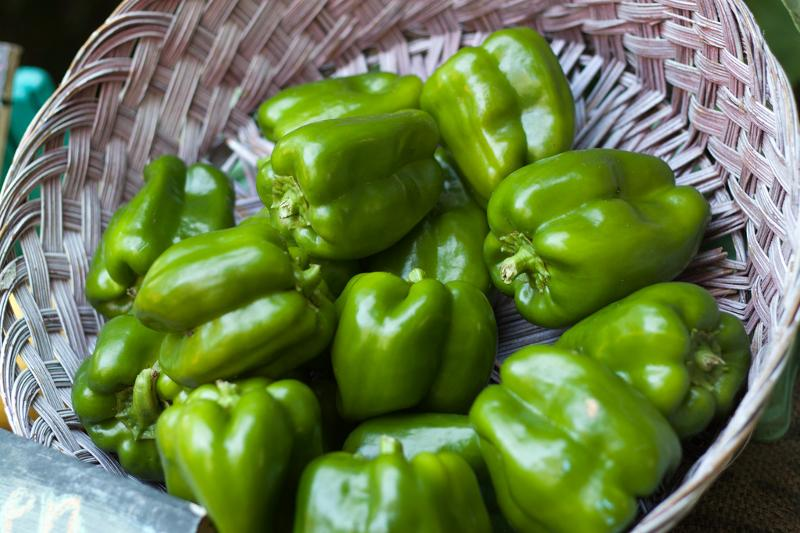Bell Peppers by Tim Sackton (flickr)