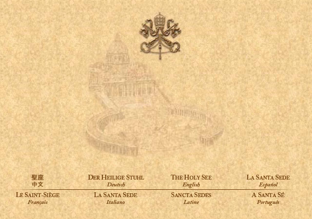 Vatican Webpage