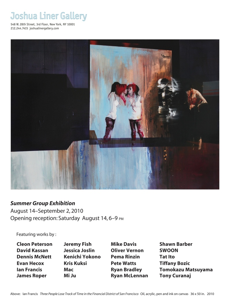 Summer Group Exhibition Evite