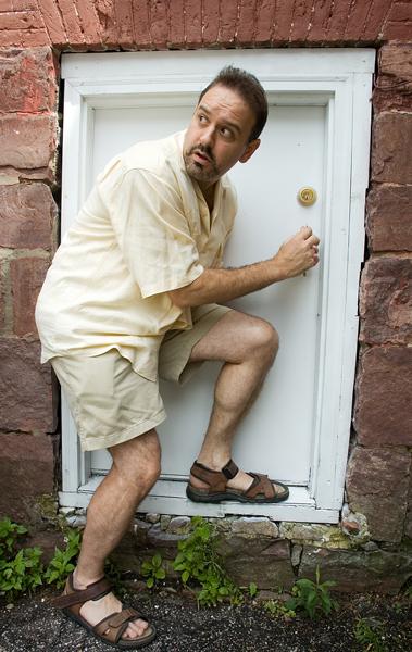 Jason at the door