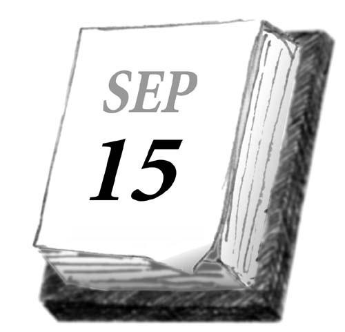 Sat. night, Sept. 15, 2012