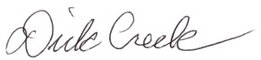 dick creek signature