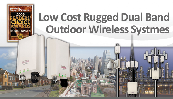 Low Cost Rugged Outdoor Dual Band Wireless Systems