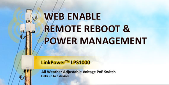 WEB ENABLE REMOTE REBOOT & POWER MANAGEMENT