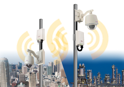5GHz Wireless Video IP Security System