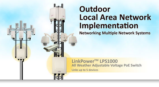 Outdoor Local Area Network Implementation