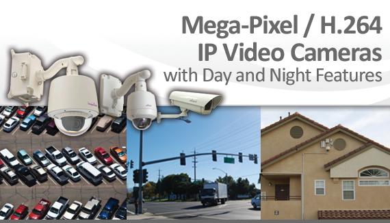 Mega-Pixel / H.264 IP Video Cameras