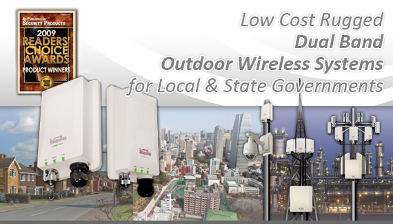 Dual Band Outdoor Wireless Systems for Local