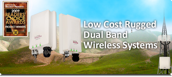 Low Cost Rugged Dual Band Wireless Systems
