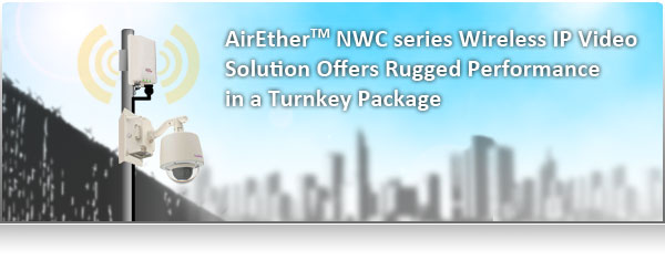 AirEther(TM) NWC series Wireless IP Video Solution