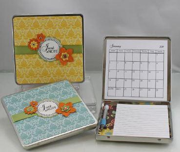 calendar tin