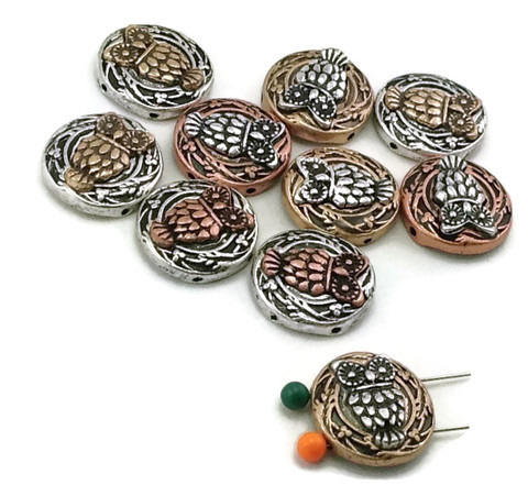 owl_mixed_metal_beads