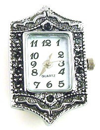 Square watch face for beading