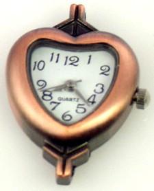 Copper watch face