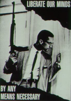 Malcolm X for self defence