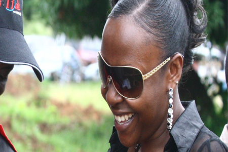 Ugandas Superlady <b>Susan Muwonge</b> - 580