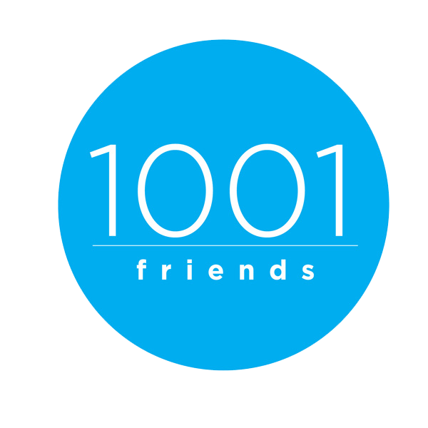 1001 Friends Logo Png