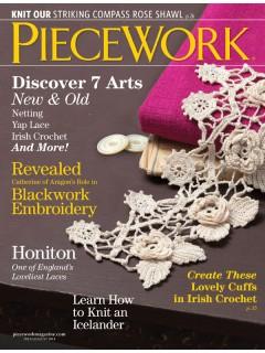 Interweave Piecework July/August 2014