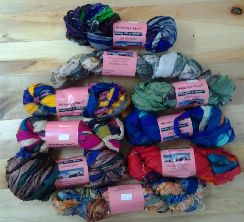 HImalaya Yarn Soft Silk Ribbon