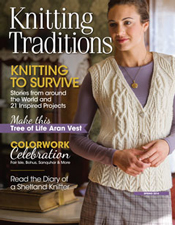 Interweave Knitting Traditions Spring 2014