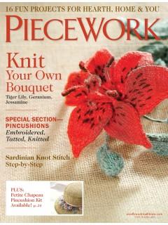 Interweave Piecework March/April 2015