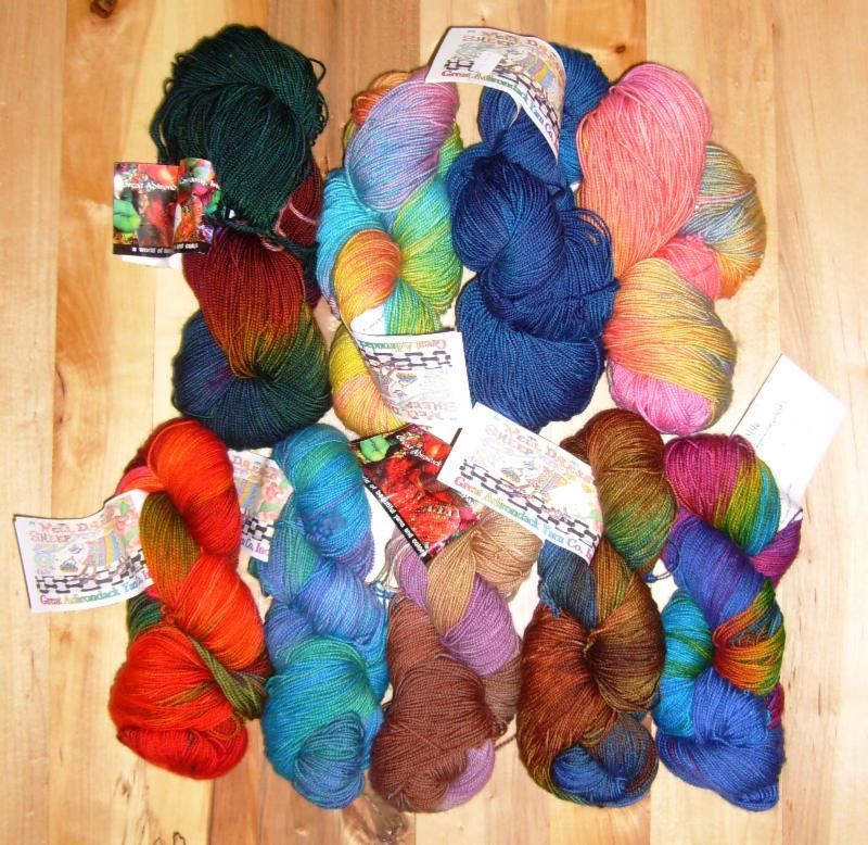 Great Adirondack Yarn Co. Silky Sock