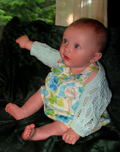 Lacey Baby Shrug