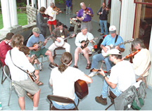 Andy May Leads Jamming workshop at Augusta Hertiage Center