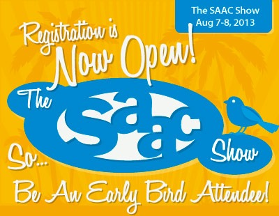 SAAC Show Early Registration 2013
