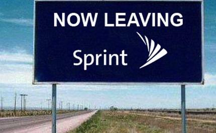 Sprint...Now Leaving