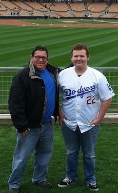 Jeff and Ryan Spring Training 2013