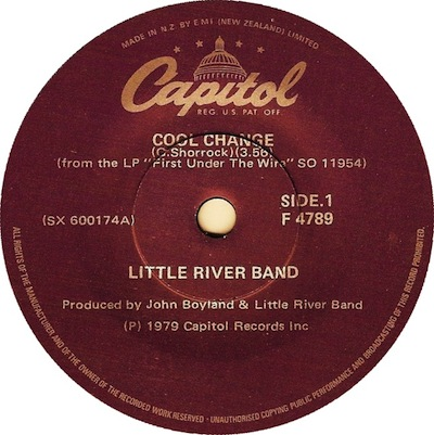Cool Change Record Label