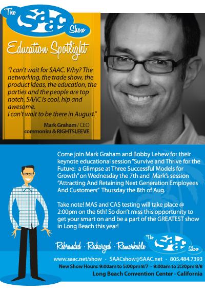 Mark Graham - SAAC Show Education '13