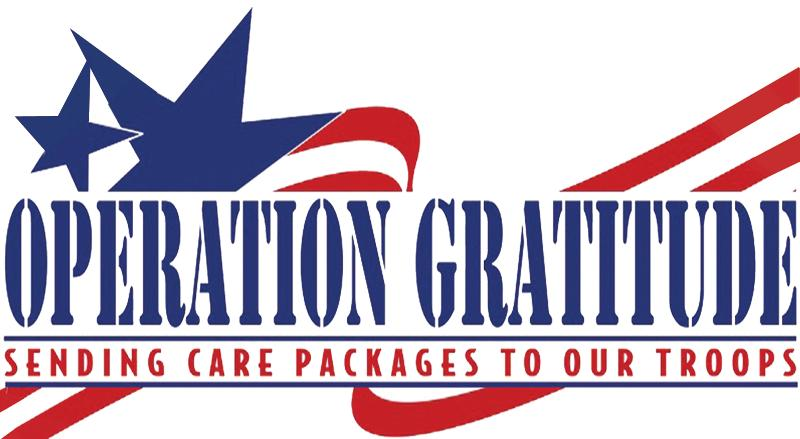 Operation Gratitude - Packages to US military