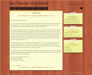 Kau Chamber of Commerce Website