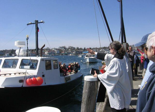 Boothbay fleet blessing