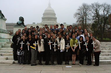 Creighton University students, Ignatian Family Teach-In 2010