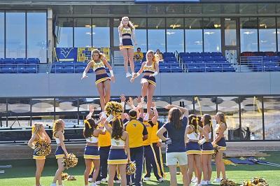 cheer practice