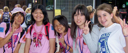 Japanese Girl Scouts