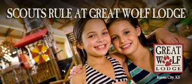Great Wolf Lodge July Banner