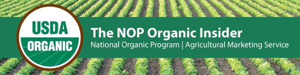 NOP Organic Insider header